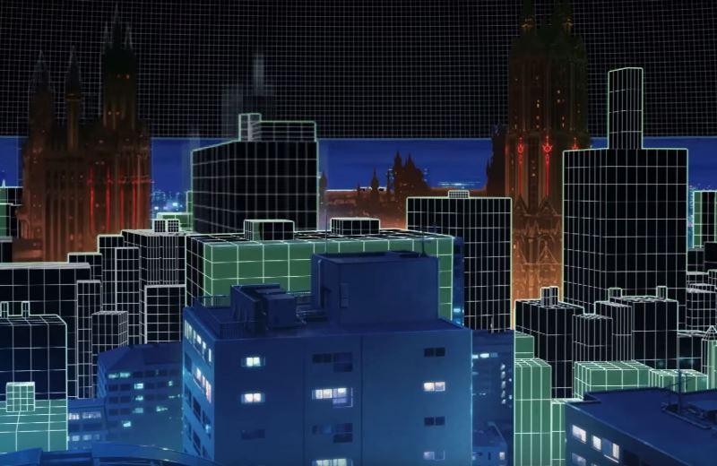 劇場版SAOのワンシーン_AR(拡張現実)がテーマ